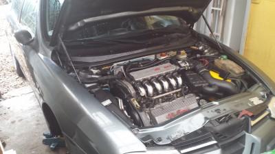 2013 – Vinterarbejde på Alfa Romeo 156 2,5 V6