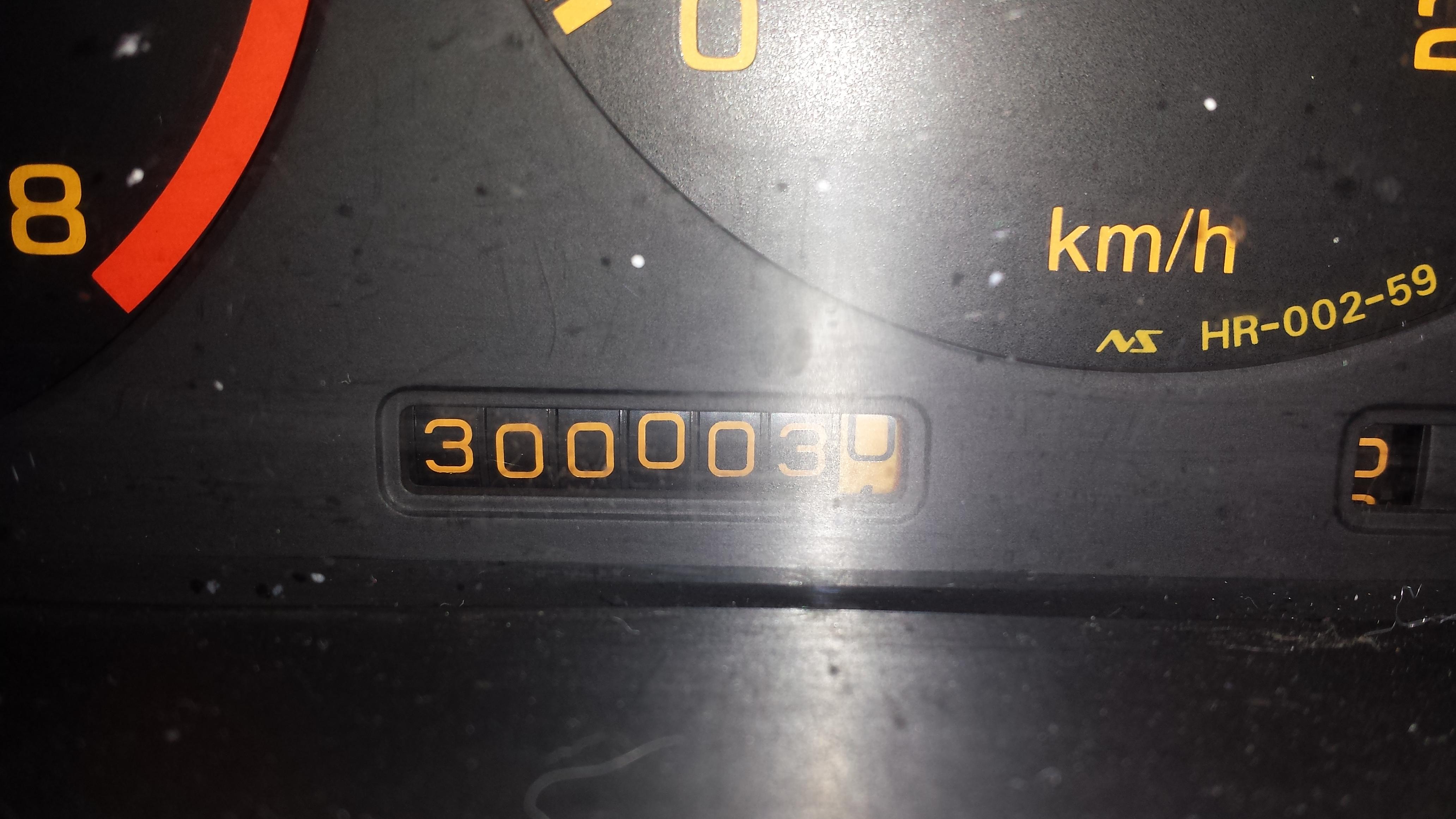 300003 kilometer !